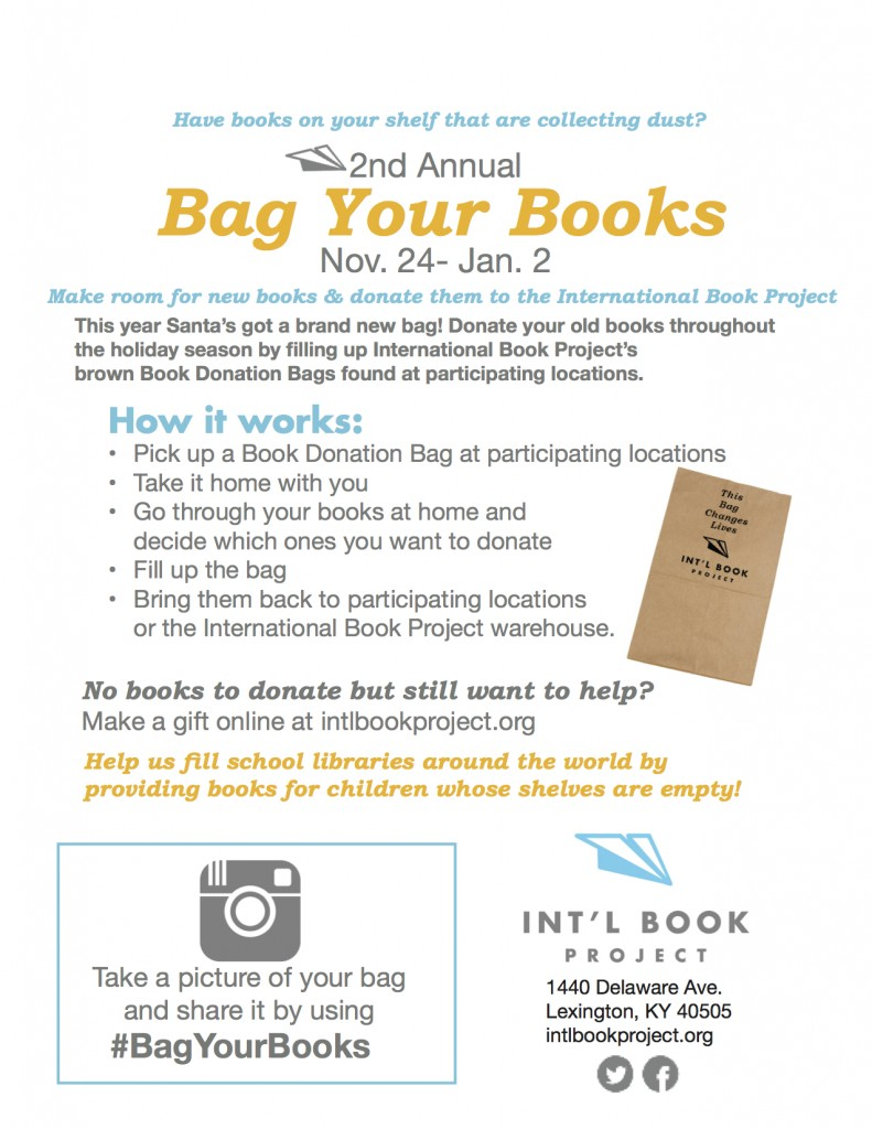 Christmas Book Donation FlyerBIZ